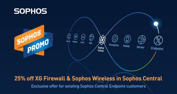 25% Off XG Firewall And Sophos Wireless In Sophos Central