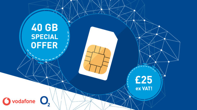 Special Offer 40gb Sim Vodafone O2