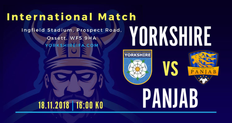 Yorkshire International Football, Yorkshire Vs Panjab