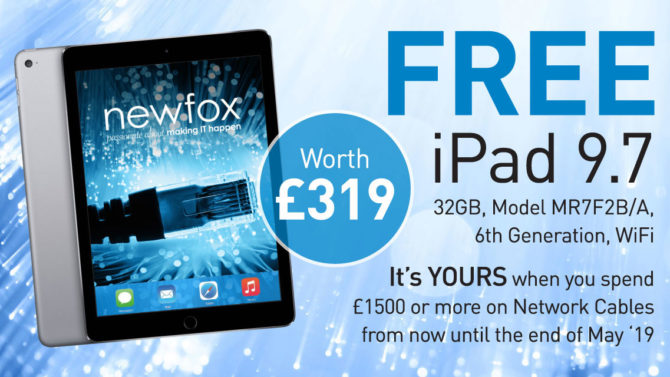 FREE IPad 9.7, Worth £319