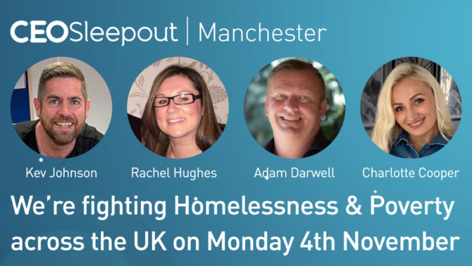 Ceo Sleepout One Week To Go